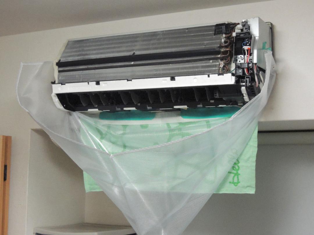 壁掛けエアコン洗浄ホッパーⅡ (エアコン洗浄カバー) 画像
