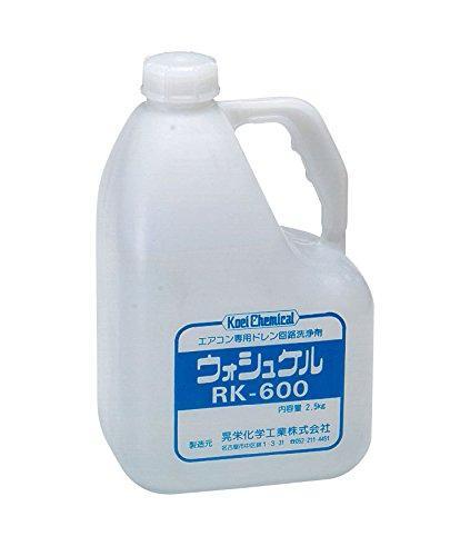 【晃栄化学工業】ドレンパン・ドレン配管洗浄剤 ウォシュケル RK-600【イチネンタスコ】画像