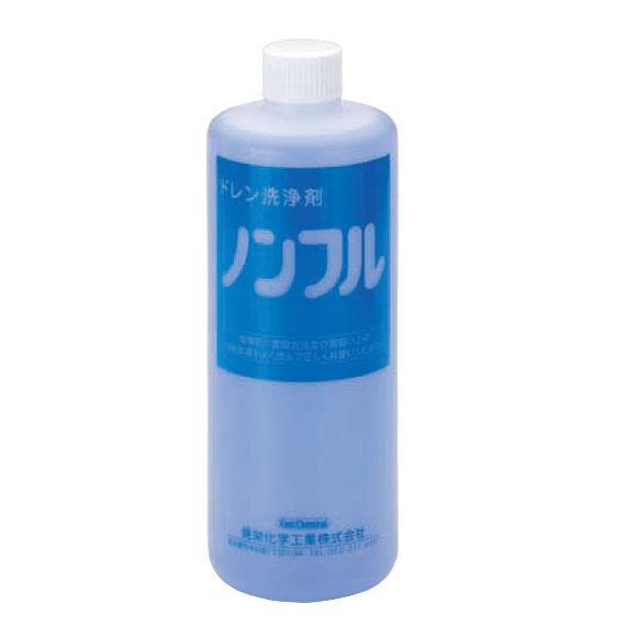 【晃栄化学工業】ドレンパン・ドレン配管洗浄剤 ノンフル1L【イチネンタスコ】の画像