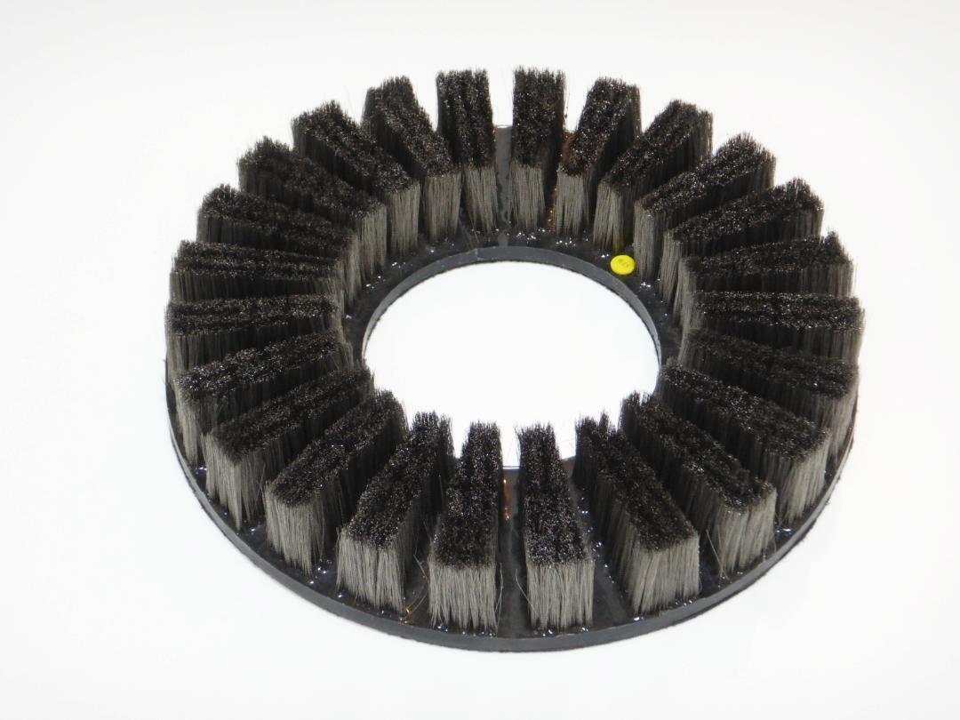 ステンレス毛材Φ0.15㎜~15インチサイズポリッシャー用フロアーブラシ~【誠和商会】画像