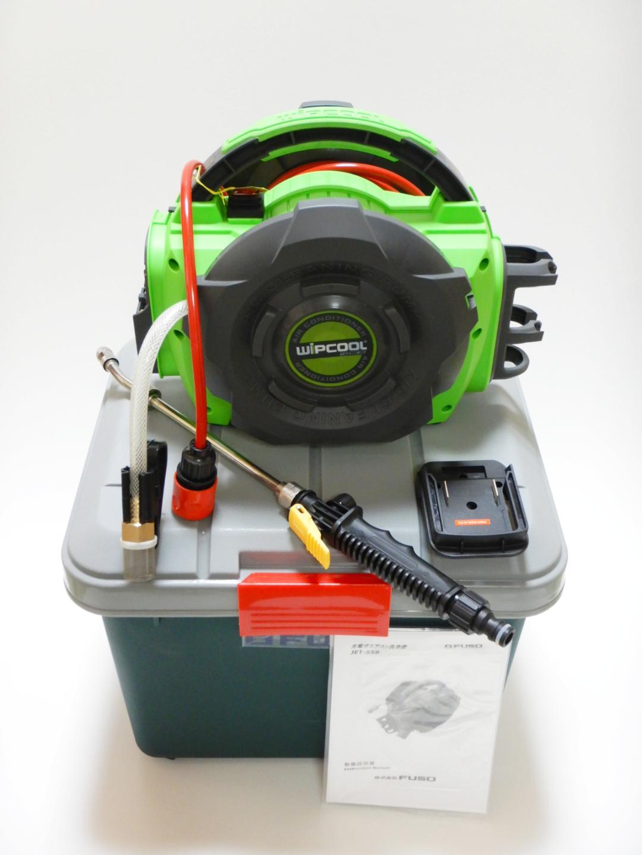 【FUSO】 JET-55B コードレスエアコン洗浄機 (マキタLi-ion18Vバッテリー対応) ※マキタバッテリ用アダプタVP-01M付属~バッテリー/充電器は付属しておりせまん~画像