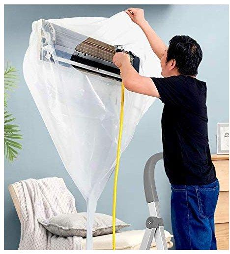 【JINSHENG】使い捨て壁掛用エアコン洗浄カバー Q-572画像