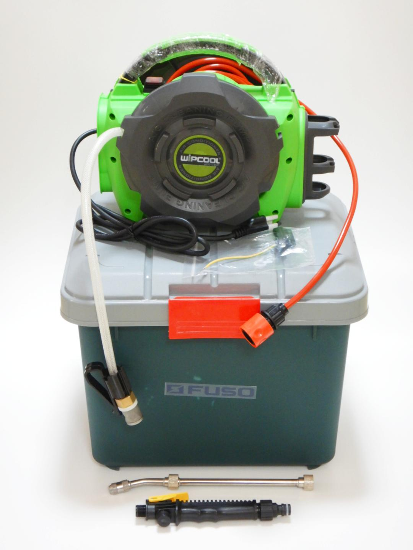 当店限定!8月31日までLED照明付点検鏡がオマケにつきます~新型!【FUSO】 JET-50 エアコン洗浄機 (100V電源PSE適合審査済)~画像