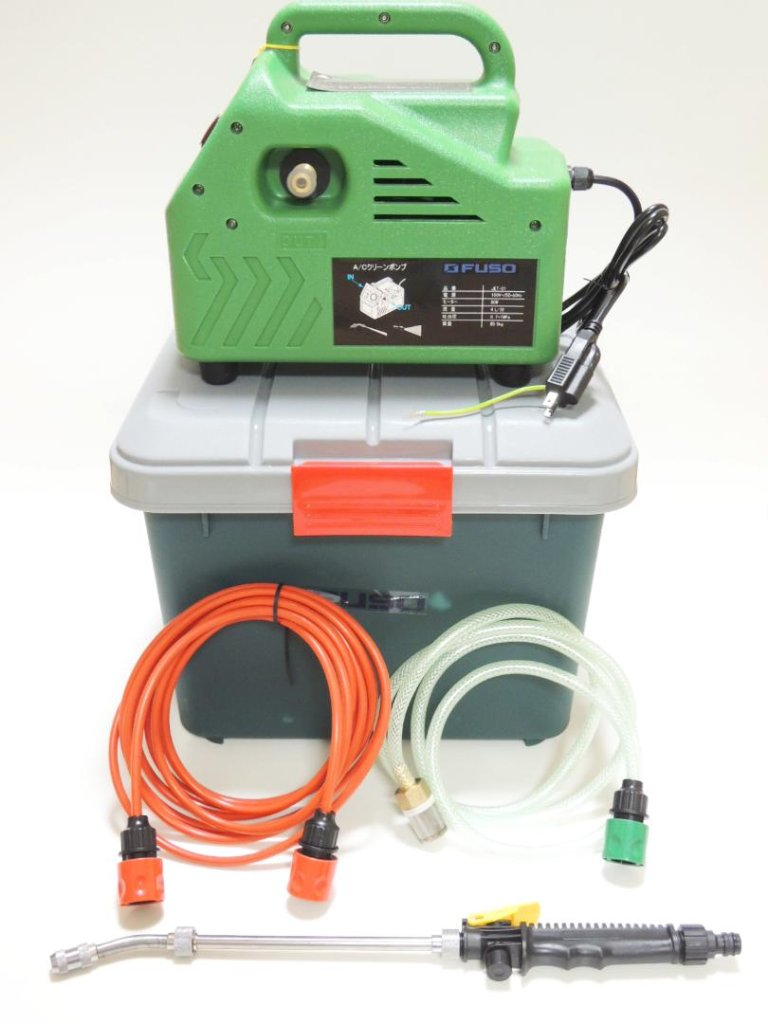 【FUSO】 JET-01 エアコン洗浄機 ~使い捨て壁掛エアコン洗浄カバープレゼント中!~の画像