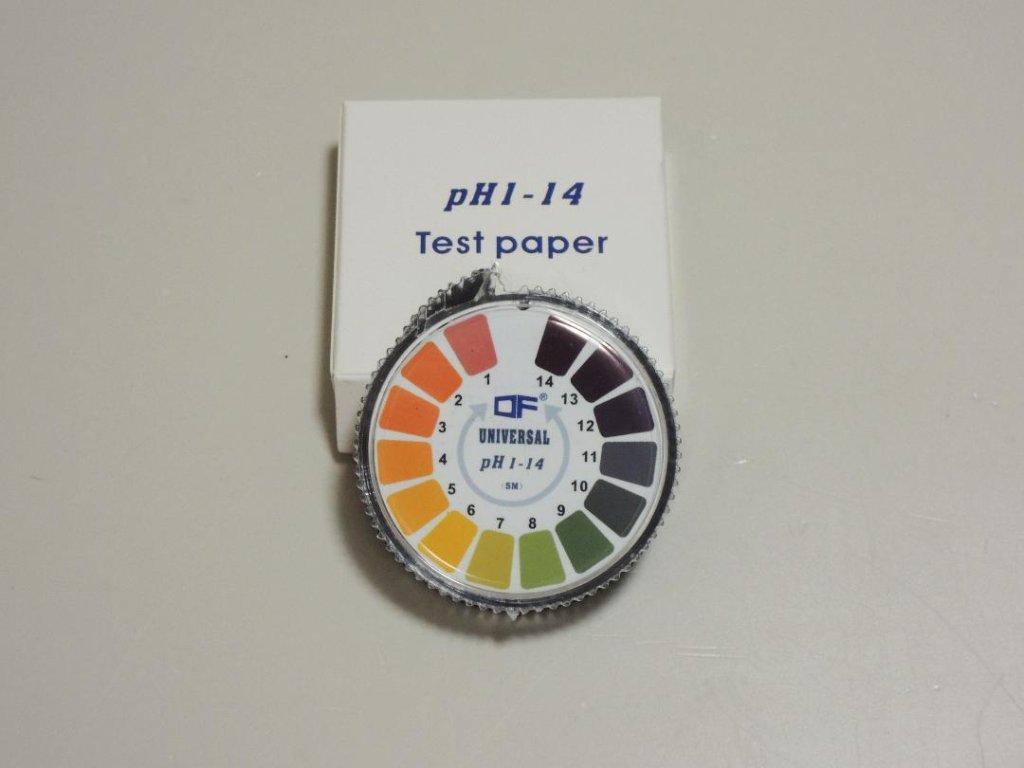 ユニバーサル リトマス試験紙(pH1~14)の画像