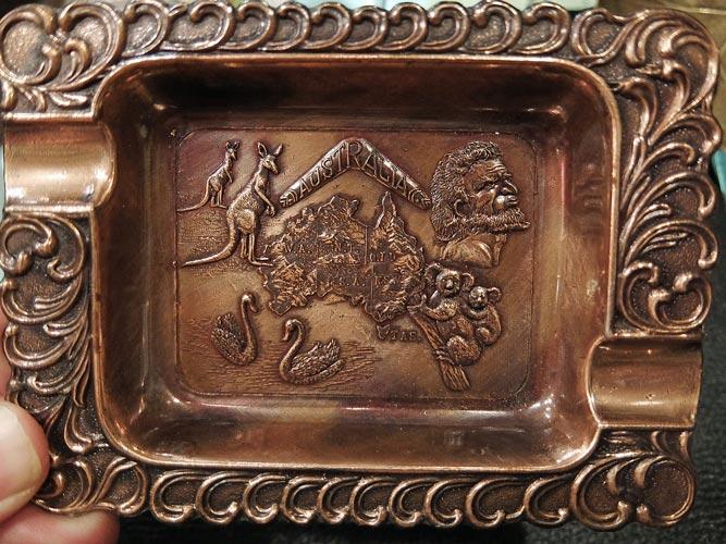 日本製オーストラリア灰皿 Australia Ashtray Made in Japan画像
