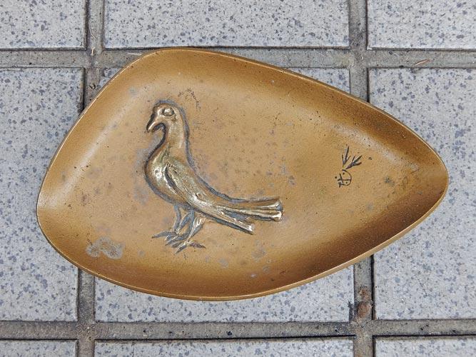 三井銀行トレイ 1961s画像