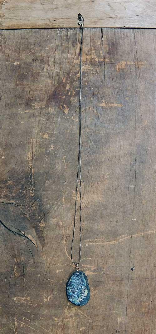 ネックレス ローマングラス画像