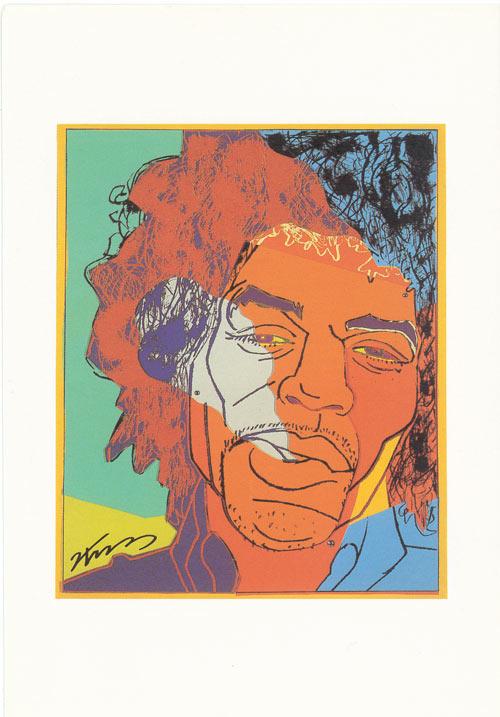 ポストカード Bob Marley画像