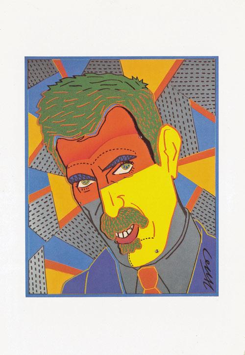 ポストカード Frank Zappa画像