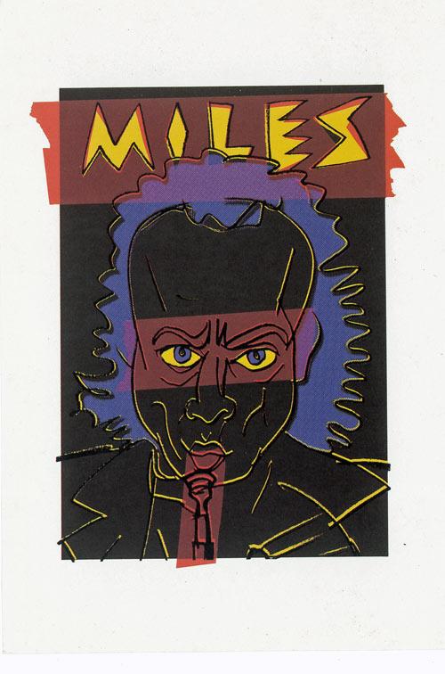 ポストカード Miles Davis画像