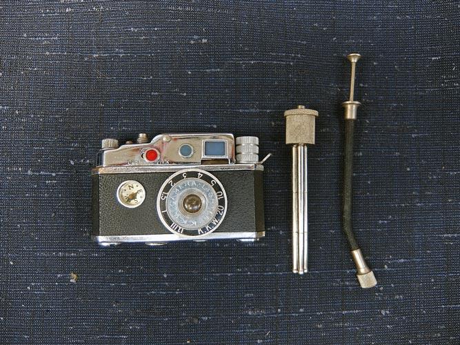 カメラ型ライター オキュパイド ジャパン 40-50s画像