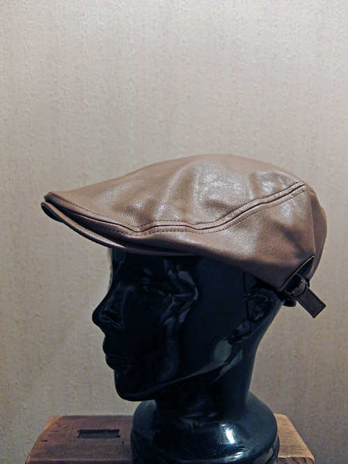 Fake Leather Hunting D.Brown画像