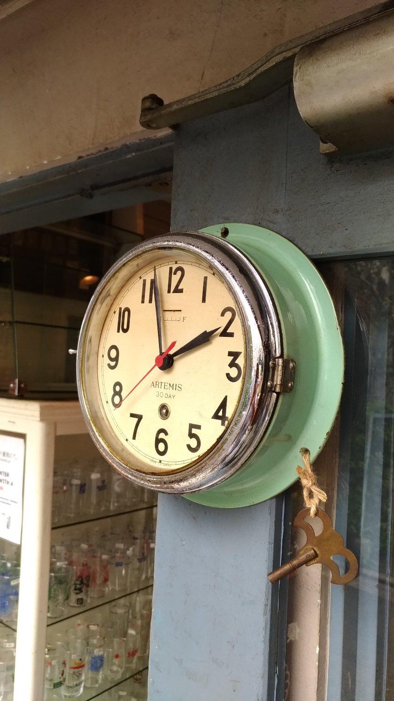 ゼンマイ式時計 ARTEMIS画像
