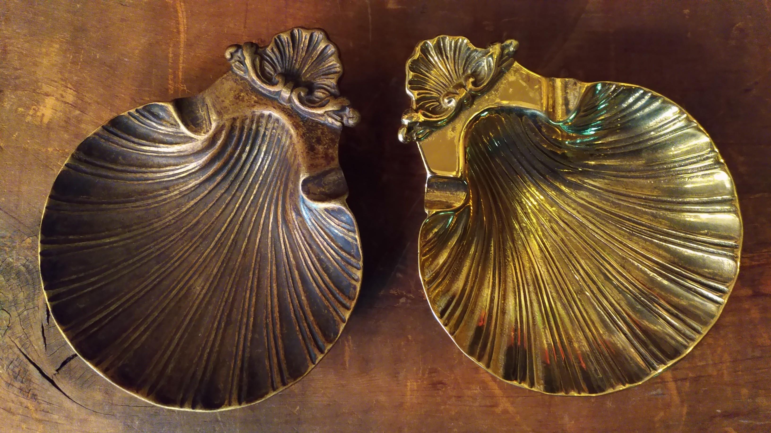 イタリアンブラス  シェルトレイ画像