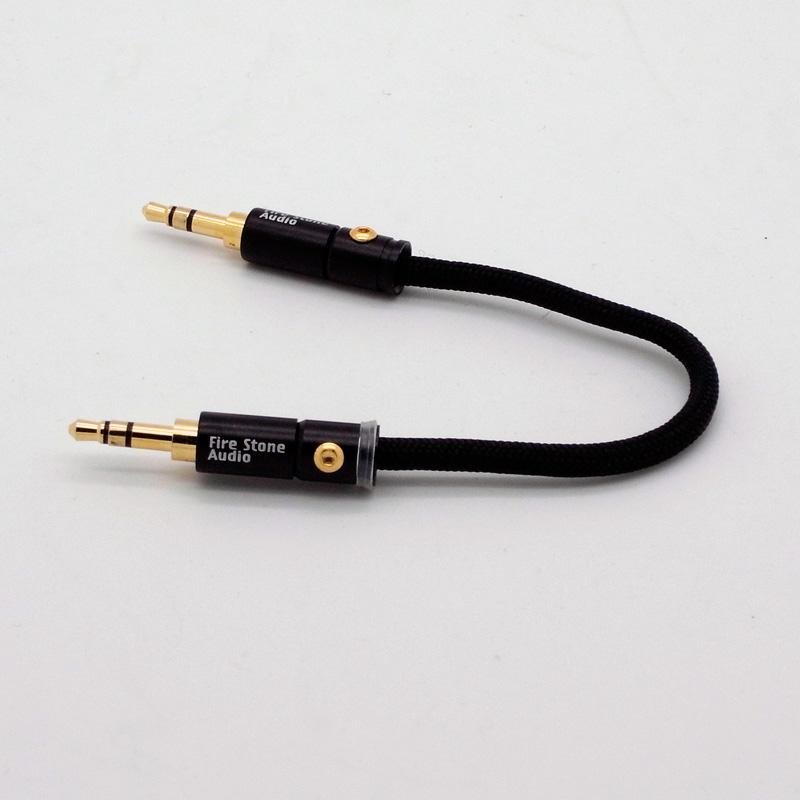 Firestone Audio FR-CA-1200 ミニ・ミニケーブル12cm(シルバー)【在庫限り特価】の画像