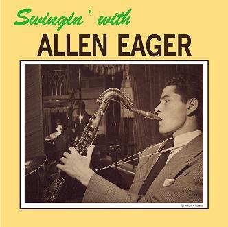 ALLEN EAGER (アレン・イーガー)/ SWINGIN' WITH ALLEN EAGER【LP】画像
