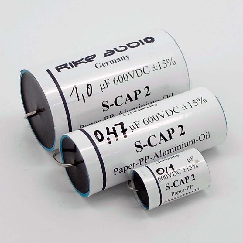 [RA02N] Rike Audio S-Cap 2 オイルコンデンサー(600V) 0.22μF画像