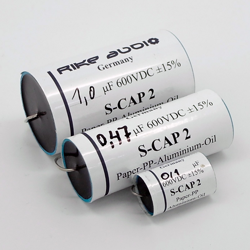 [RA03N] Rike Audio S-Cap 2 オイルコンデンサー(600V) 0.33μFの画像