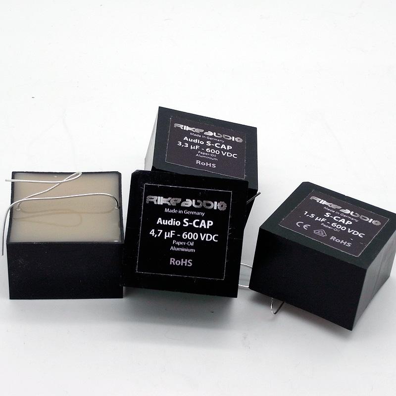 [RA07] Rike Audio S-Cap オイルコンデンサー(600V) 1.5μFの画像