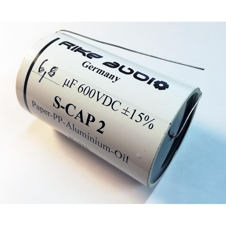 [RA14N] Rike Audio S-Cap 2 オイルコンデンサー(600V) 6.8μF画像