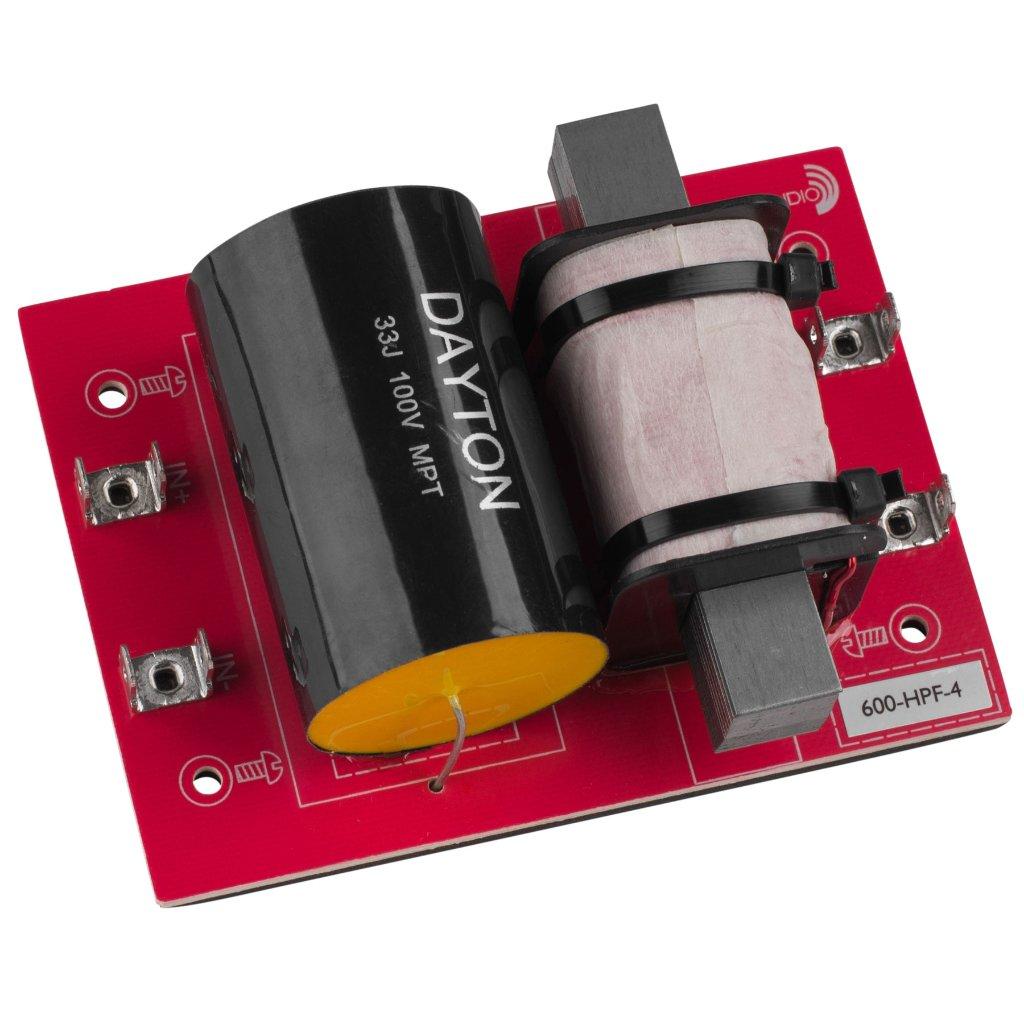 [DHF03]Dayton Audio 600-HPF-4(600 Hz:12 dB/Oct)の画像