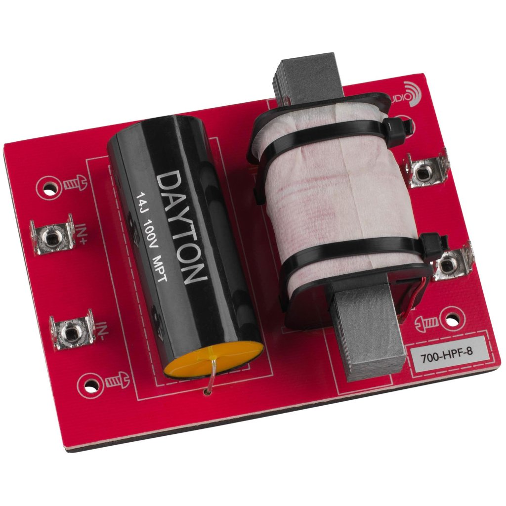 [DHF06]Dayton Audio 700-HPF-8(700 Hz:12 dB/Oct)の画像