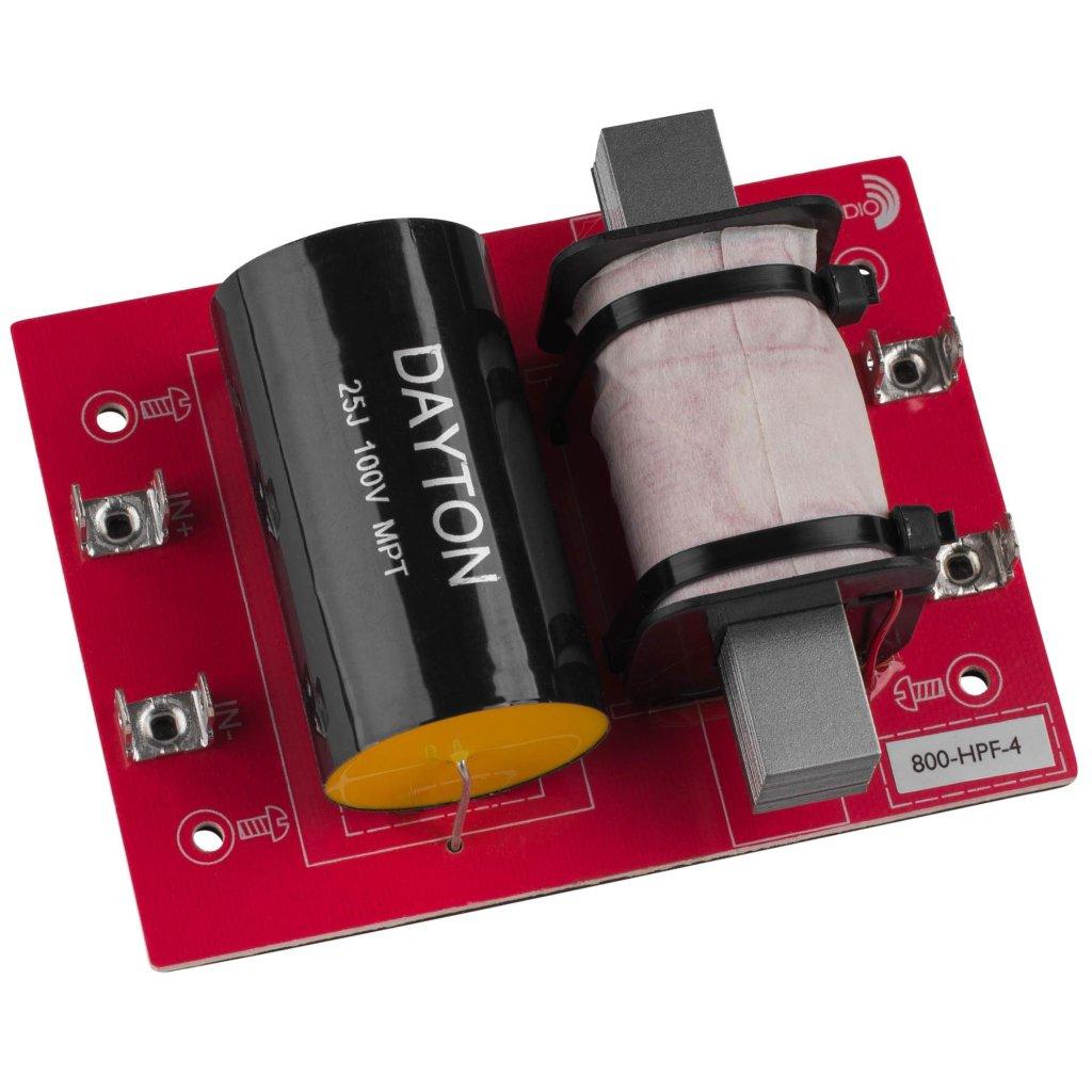 [DHF07]Dayton Audio 800-HPF-4(800 Hz:12 dB/Oct)の画像