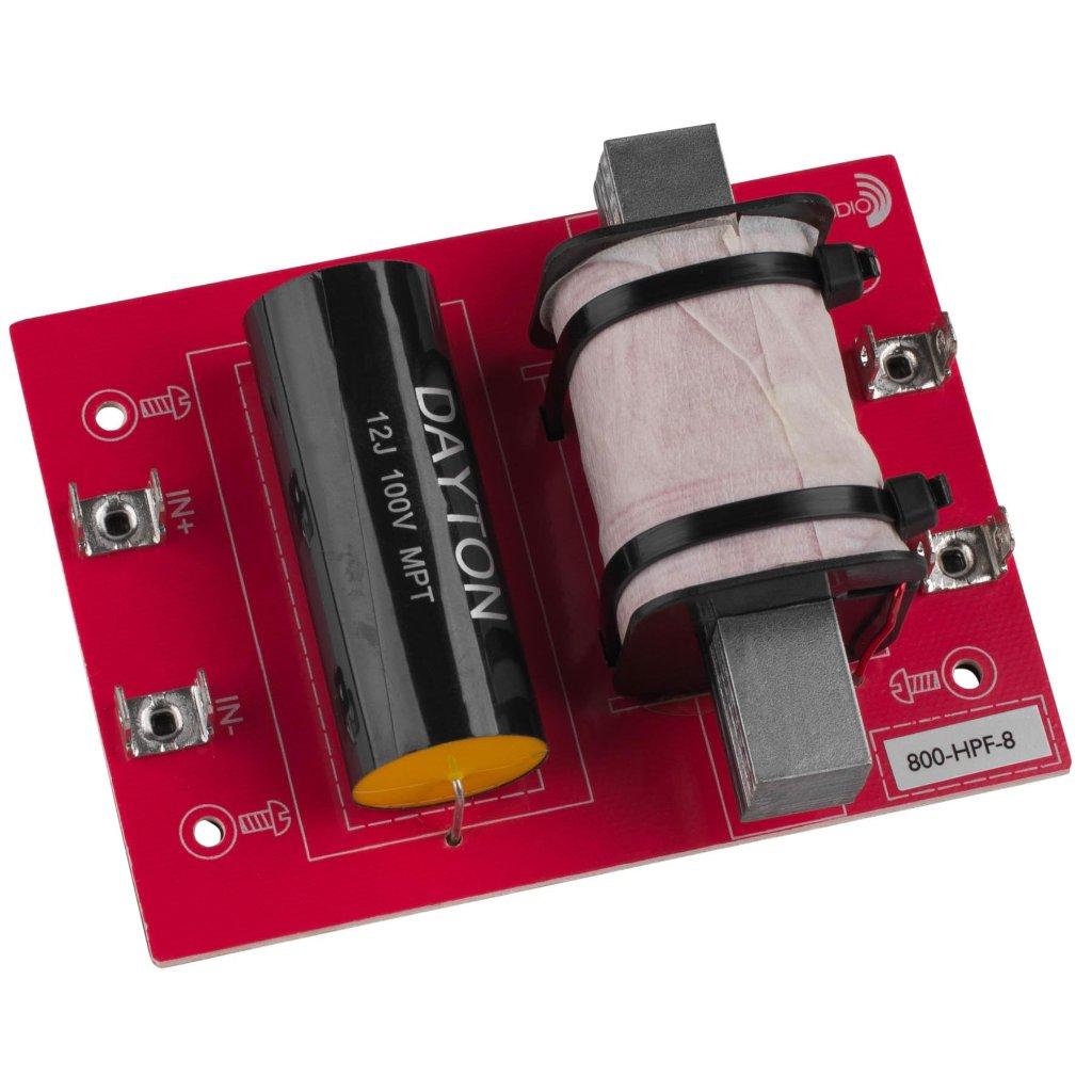 [DHF08]Dayton Audio 800-HPF-8(800 Hz:12 dB/Oct)の画像