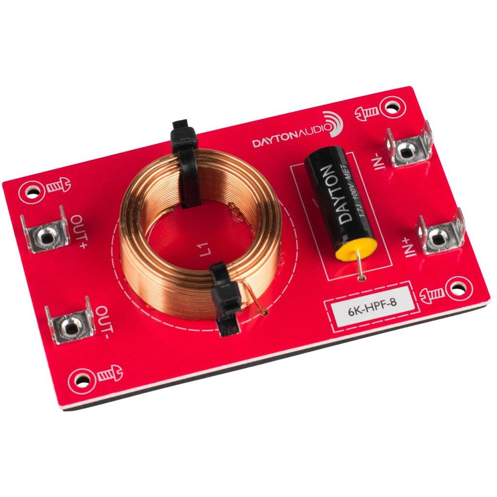 [DHF26]Dayton Audio 6k-HPF-8(6,000 Hz:12 dB/Oct)の画像