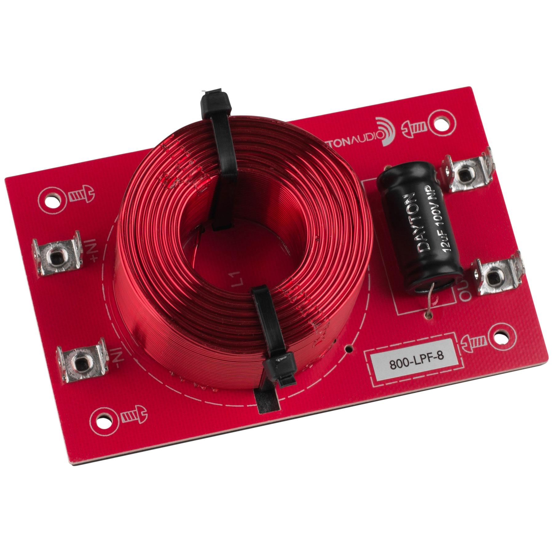 [DLF08]Dayton Audio 800-LPF-8(800 Hz:12 dB/Oct)画像