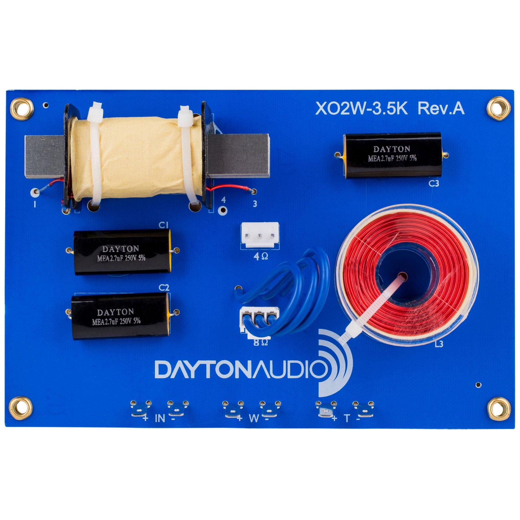 Dayton Audio XO2W-3.5K画像