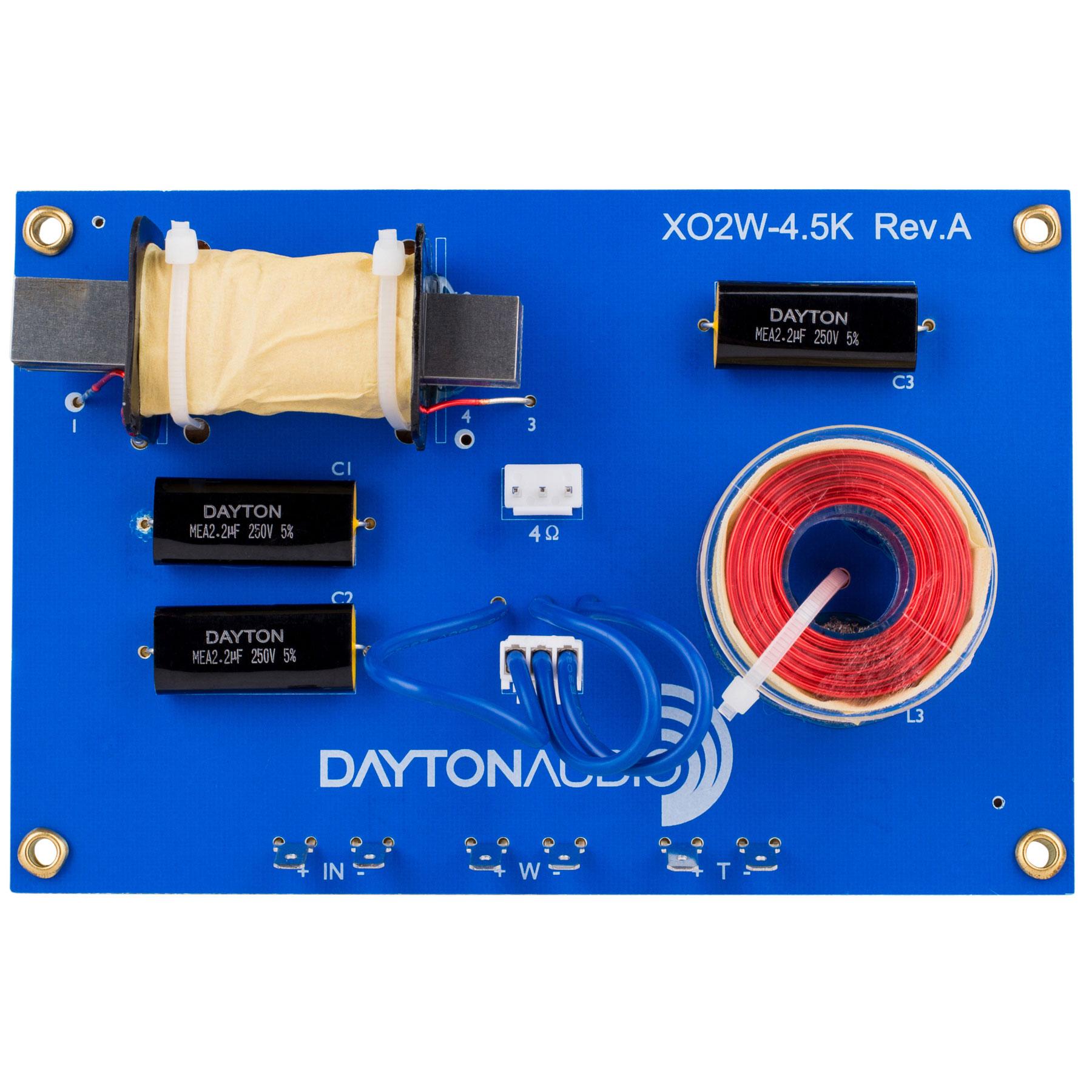 Dayton Audio XO2W-4.5K画像
