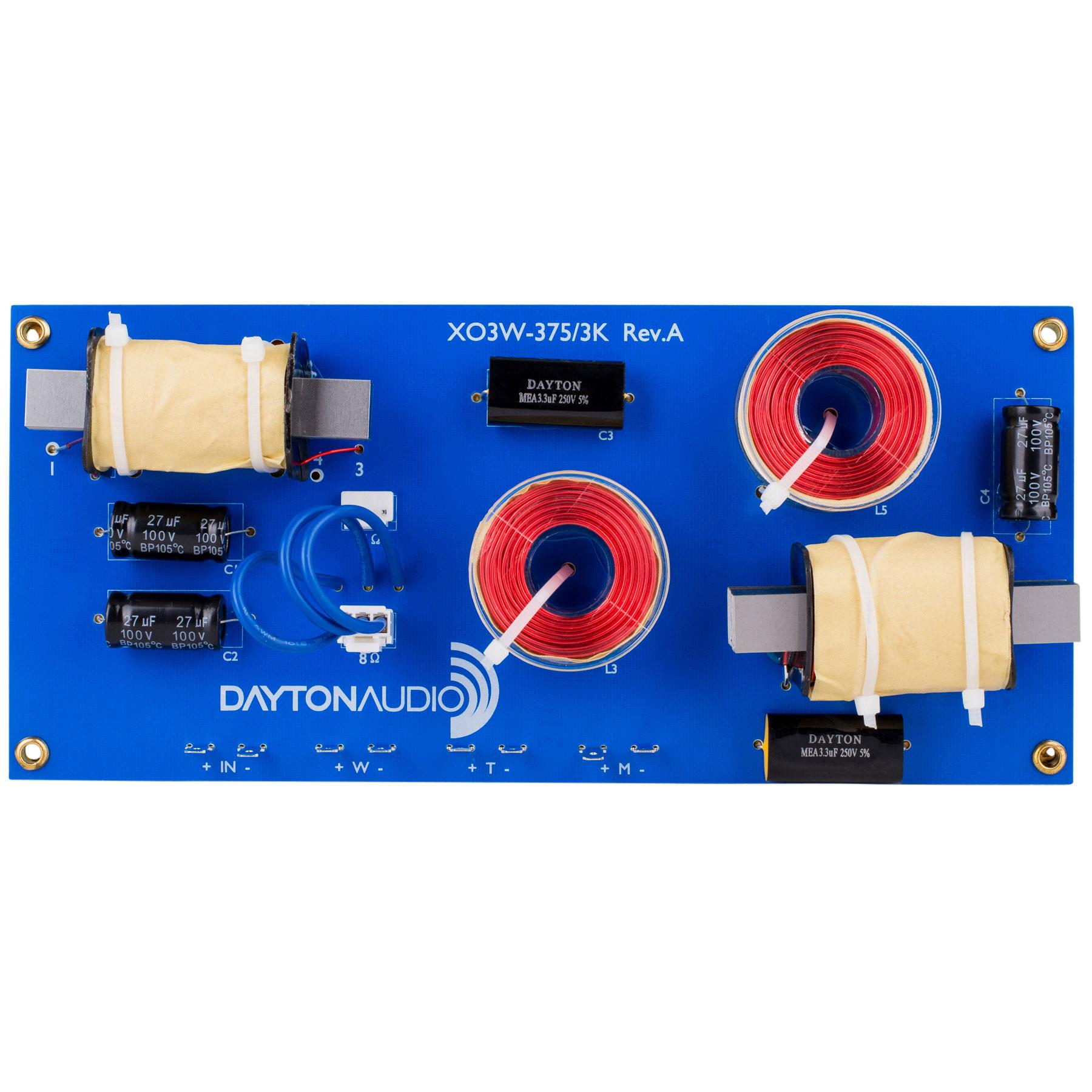 Dayton Audio XO3W-375/3K画像