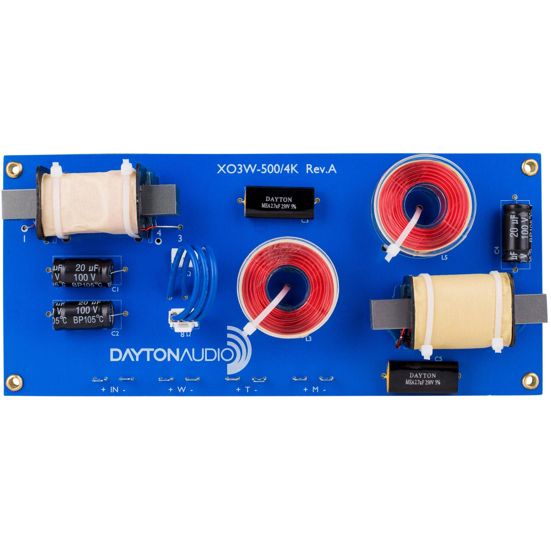 Dayton Audio XO3W-500/4K画像