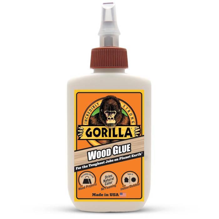 Gorilla WooD Glue (ゴリラ ウッドグルー)4オンス(118mL)画像