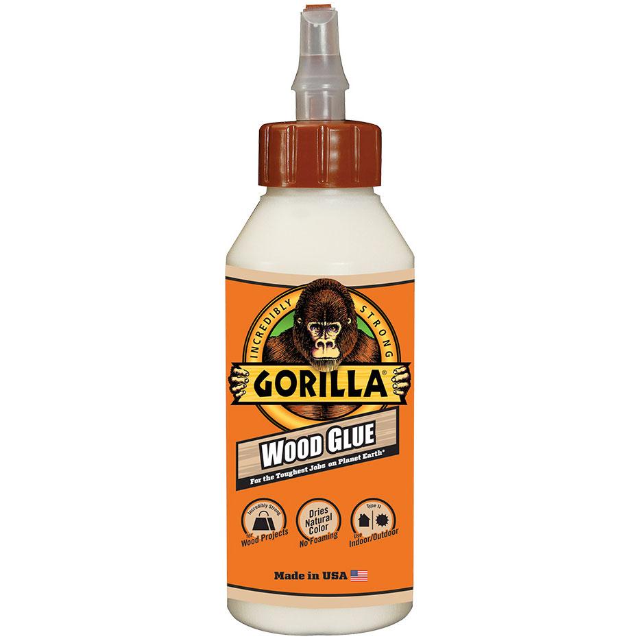 Gorilla WooD Glue (ゴリラ ウッドグルー)8オンス(236mL)の画像