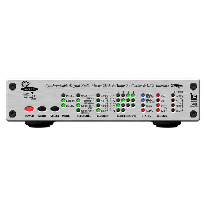 MUTEC MC-3+USB Aluminum(シルバー)画像