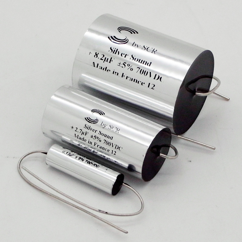 [AGM047] Solen Silver CAP(700V) 0.47μFの画像