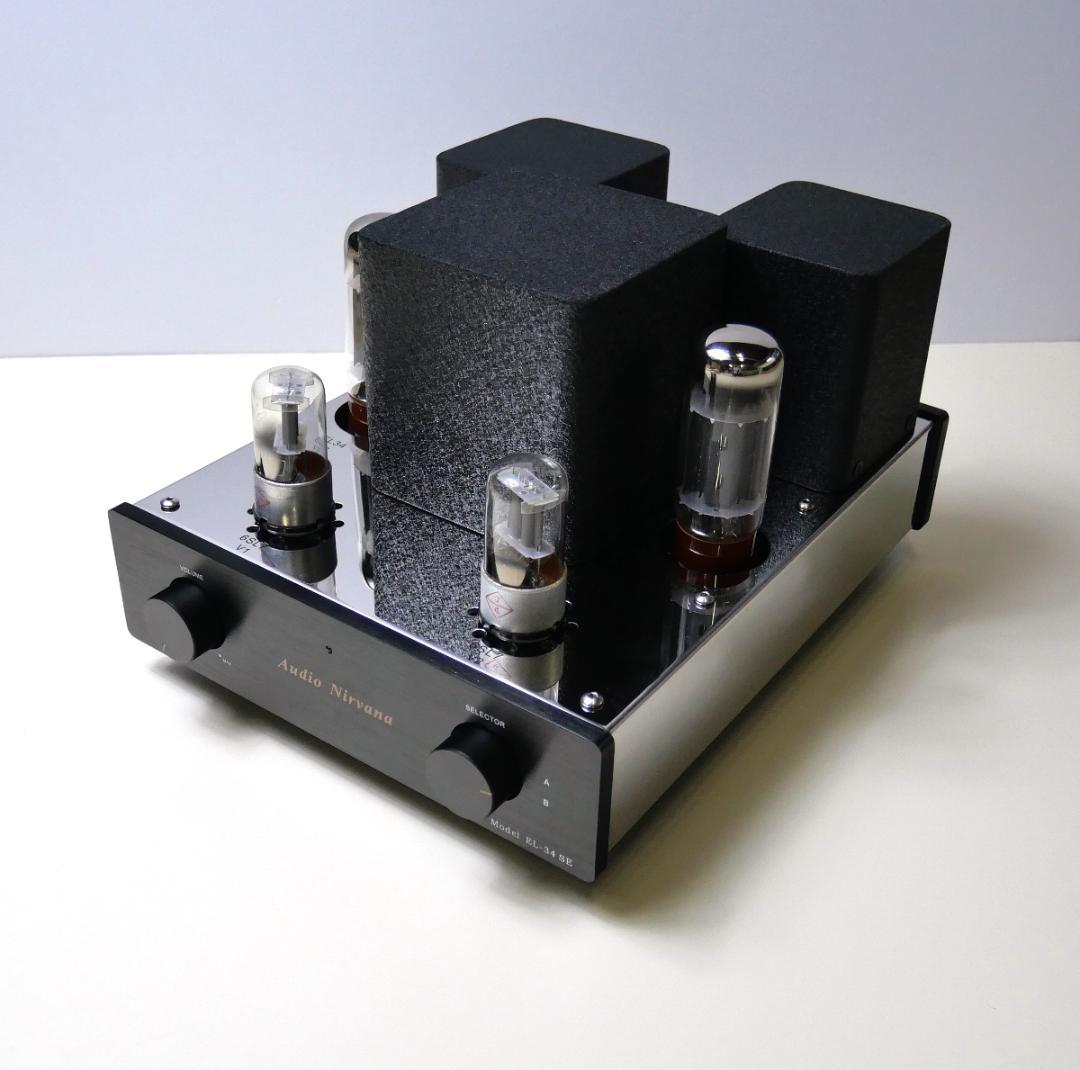 AudioNirvana EL34 シングルアンプ画像