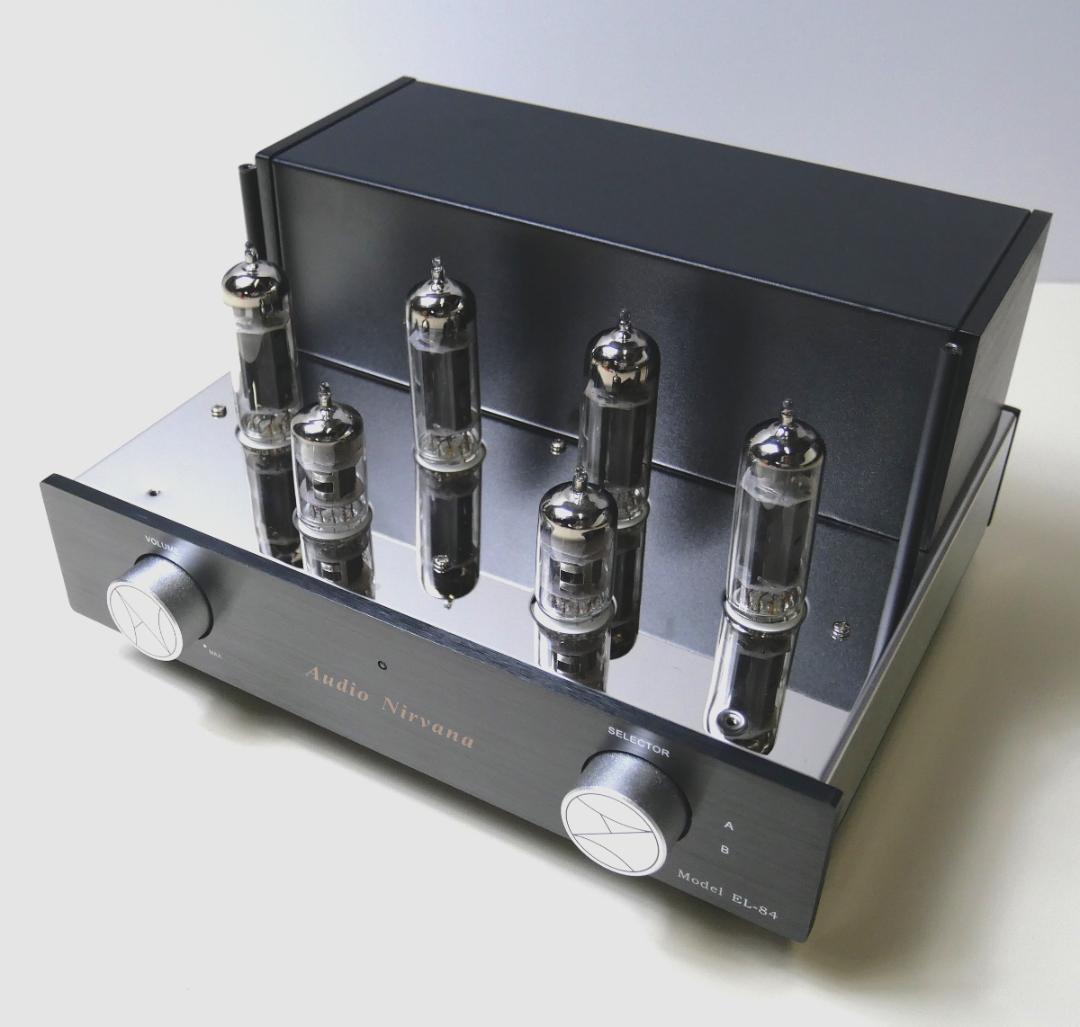 AudioNirvana EL84 UL-PPアンプ画像