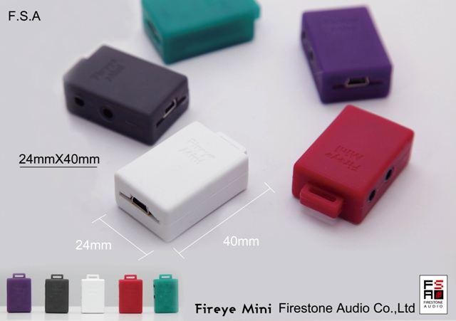 FireStone 「Fireye Mini-RD」ウルトラマイクロ ヘッドフォンアンプ(レッド)の画像