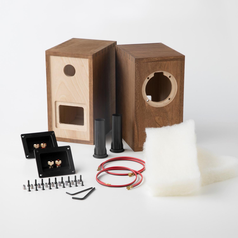 Dayton Audio PS95-8用ボックスキット(ペア)画像