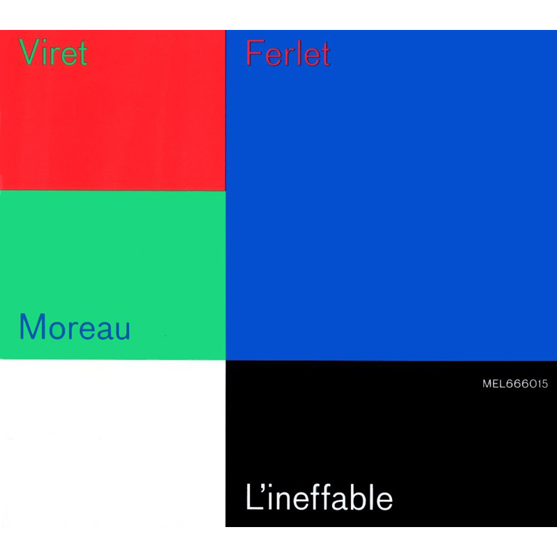 L'INEFFABLE  ジャン=フィリップ・ヴィレ・トリオ画像