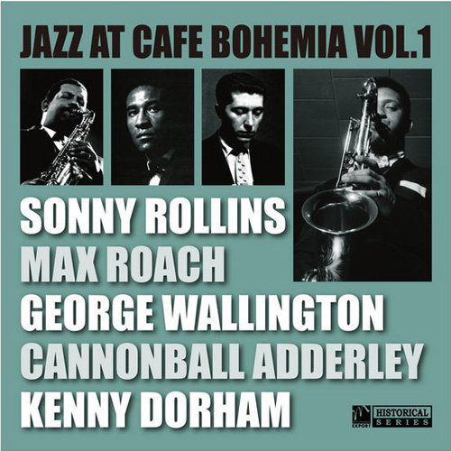 ジャズ・アット・カフェ・ボヘミア vol.1 / ソニー・ロリンズ他【CD】の画像