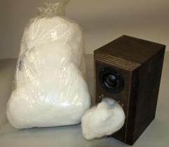 Acousta-Stuf(アコースタ・スタッフ)吸音材--1ポンド(0.454kg)の画像