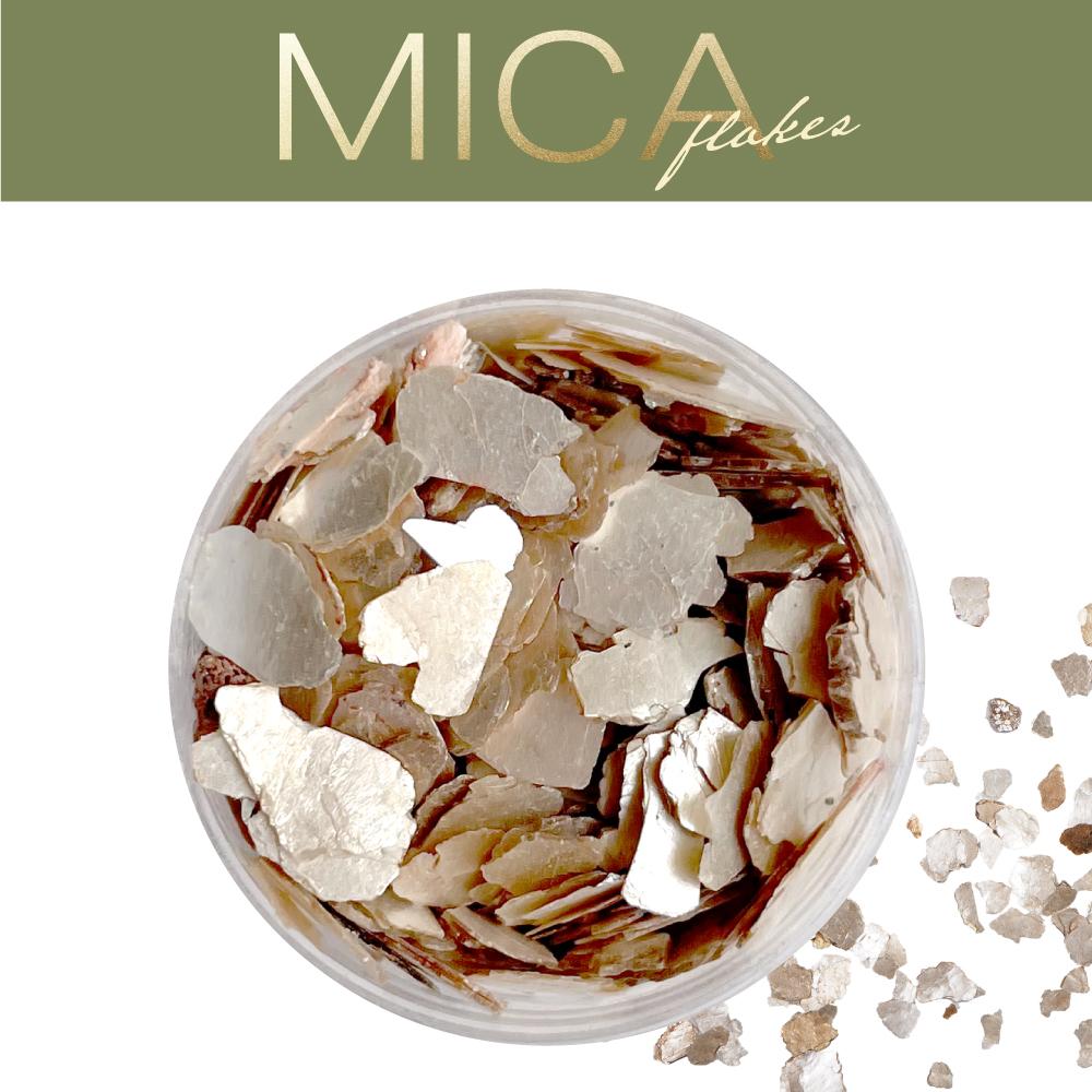 マイカフレーク ホワイトゴールドMIX(MICA-1)画像