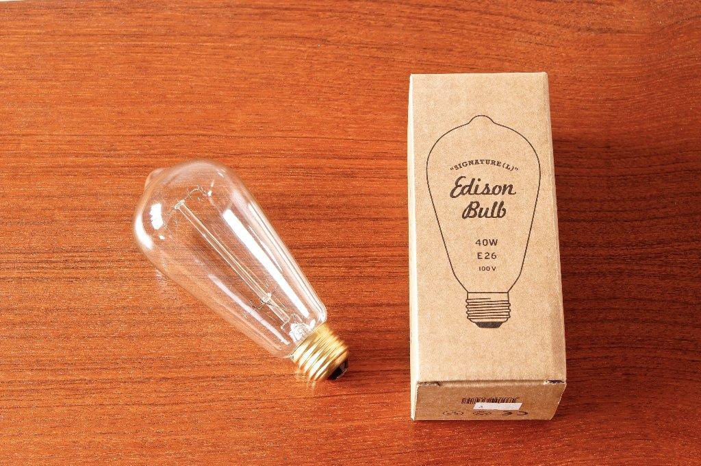 "Edison Bulb ""Signature (L)""の画像"
