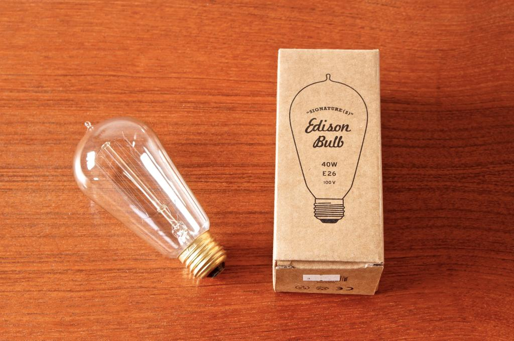 "Edison Bulb ""Signature (S)""の画像"