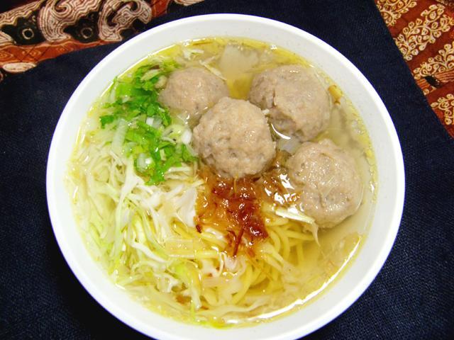 自家製バソ(牛肉団子)/Bakso sapi Homemade 【Halal】画像